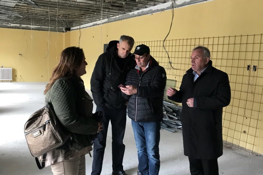 "U planu intenziviranje radova na rekonstrukciji hotela ""Plavsko jezero"""