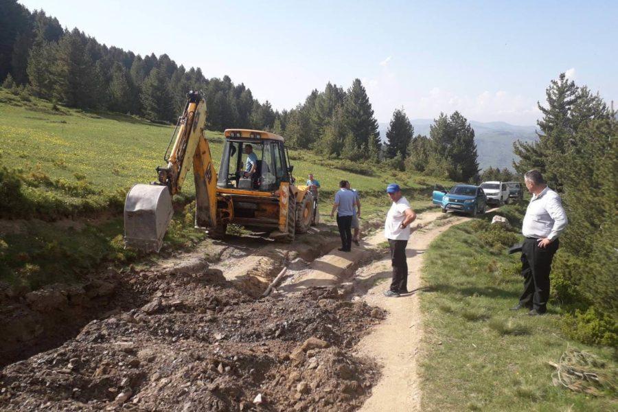 Opštinsko rukovodstvo obišlo radove na rekonstrukciji puta ka Hridskom jezeru