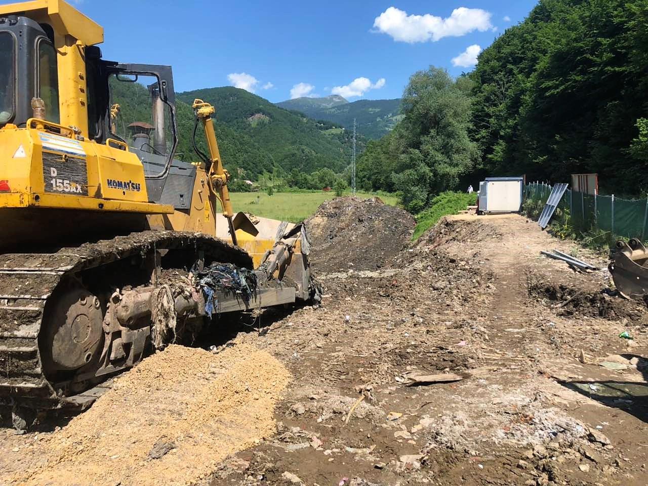 Canović: Započeti radovi na sanaciji odlagališta otpada u Komarači vrijedni 250 hiljada €