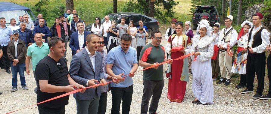 Završena rekonstrukcija puta prema Hridskom jezeru