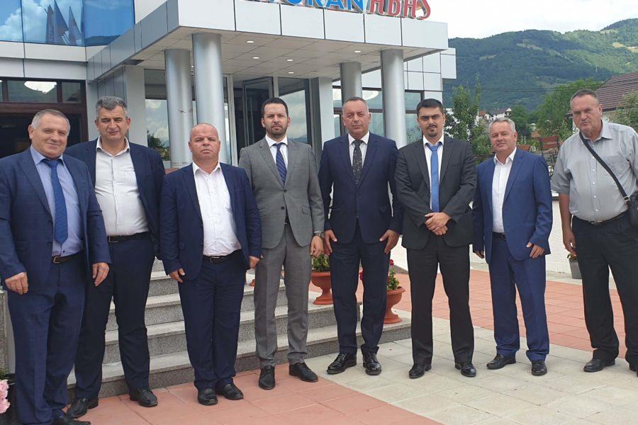 Predsjednici kosovskih opština Dečani, Junik i Orahovac u radnoj posjeti Plavu