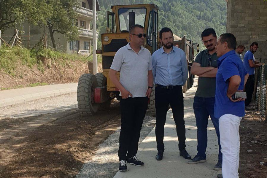 Bajraktarević: Privode se kraju radovi na prvoj fazi saobraćajnice u Vojnom selu