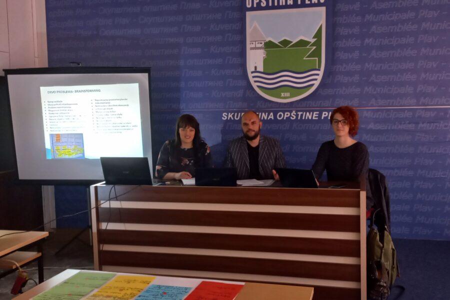 U Plavu održana radionica na temu izrade EU projekata