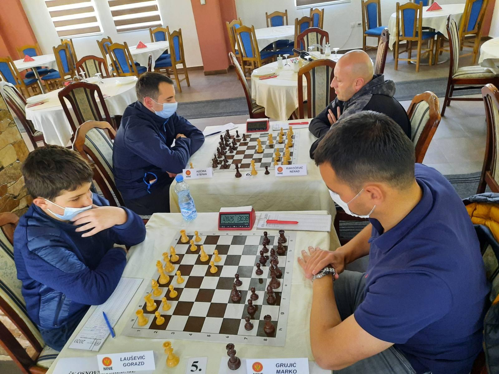 Plav domaćin Druge crnogorske lige u šahu