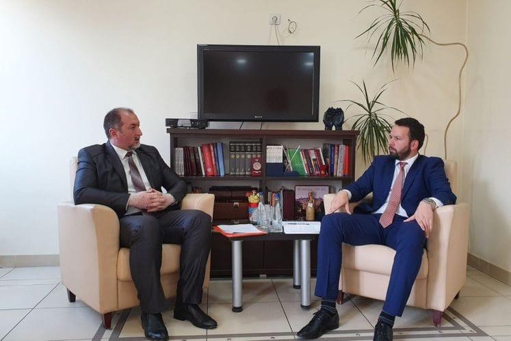 Predsjednik Canović razgovarao sa ministrom poljoprivrede Stijovićem