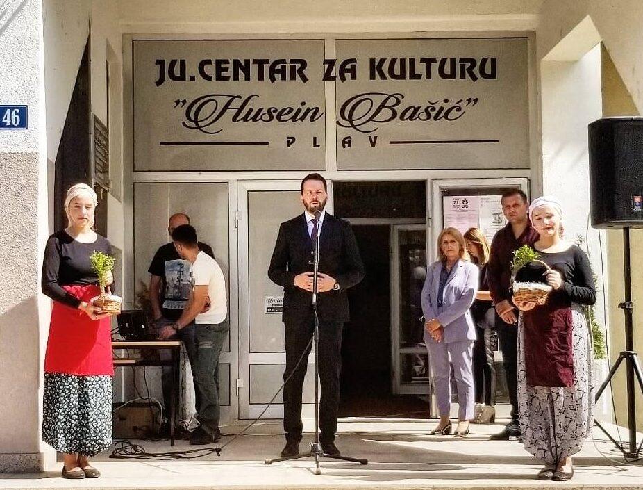 Predsjednik Opštine otvorio Sajam poljoprivrede i ručnih radinosti u Plavu