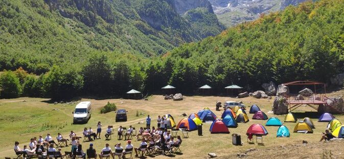 "Održan Eko kamp za mlade ""Prokletije"""