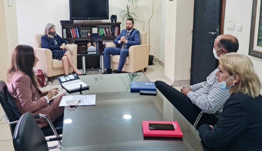 Čelnici lokalne uprave sa Ambasadorkom Ujedinjenog kraljevstva