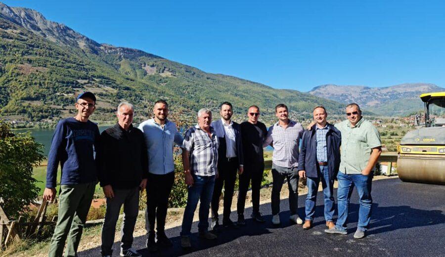 Asfaltiranje puta kroz Kumanice rezultat uspješne saradnje sa mještanima